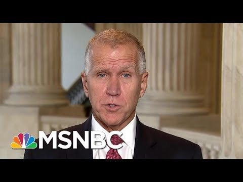 Senator Thom Tillis Co-Sponsors Legislation For Undocumented Kids   Morning Joe   MSNBC