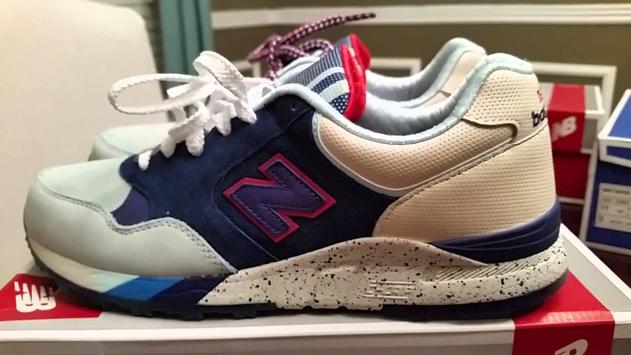 NEW BALANCE X RONNIE FIEG X KITH BROOKLYN BRIDGE - YouTube