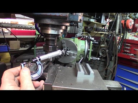 Machining tough to machine alloys, for the knurling tool body part 5