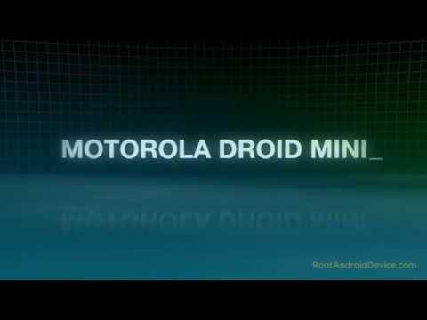 How To Root Motorola Droid Mini