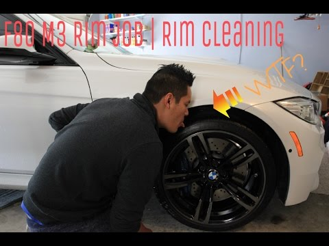 BMW F80 | M3 Rim Job | Rims Detailing / Cleaning