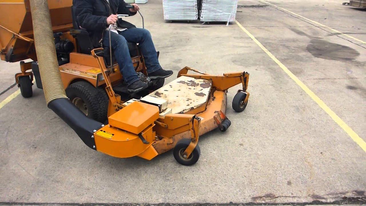 Woods Mow N Machine 2860 Zero Turn Mower Youtube