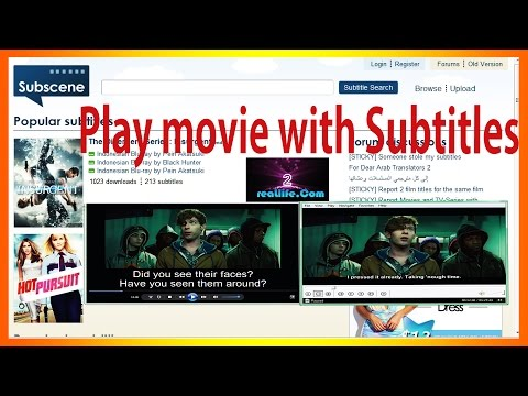 Windows Media Player Subtitles-Media Player Classic Subtitles-How To Add Subtitles