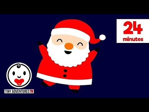 Baby Sensory | Christmas Compilation | High Contrast Colour Animation (Infant Visual Stimulation)