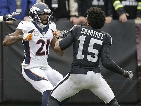 Michael Crabtree And Aqib Talib Start Massive Brawl in Chain Snatchers Pt 2 HD
