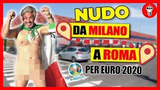 Da Milano a Roma per gli Europei, ma ogni 100KM una Punizione - [theShow]
