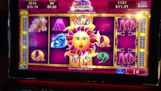 Solstice Celebration Slot machine -25 FREE SPINS Bonus Games