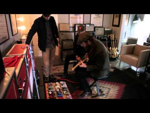 Brothers Osborne visit JHS Pedals outside of Kansas City