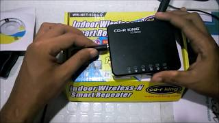 How to Set-up CDrking Wireless Smart Repeater