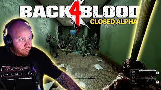 TRYING OUT THE BACK 4 BLOOD ALPHA! THE *NEW* LEFT 4 DEAD?!