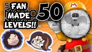 Super Mario Maker: On Fire - PART 50 - Game Grumps