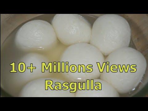 Bengali Rasgulla - Sponge Rasgulla Recipe | घर मे कैसे रसगुल्ले बनाये | How to make yummy rasgulla |