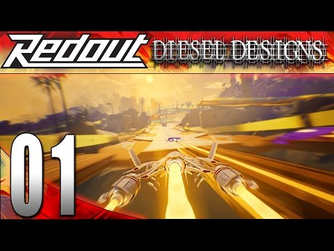 Redout Gameplay : EP1 : Holy Fast Racing Game! (HD PC Let's Play)