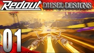 Redout Gameplay : EP1 : Holy Fast Racing Game! (HD PC Let