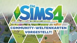 Erfundene Community-Weltenkarten vorgestellt! | sims-blog.de