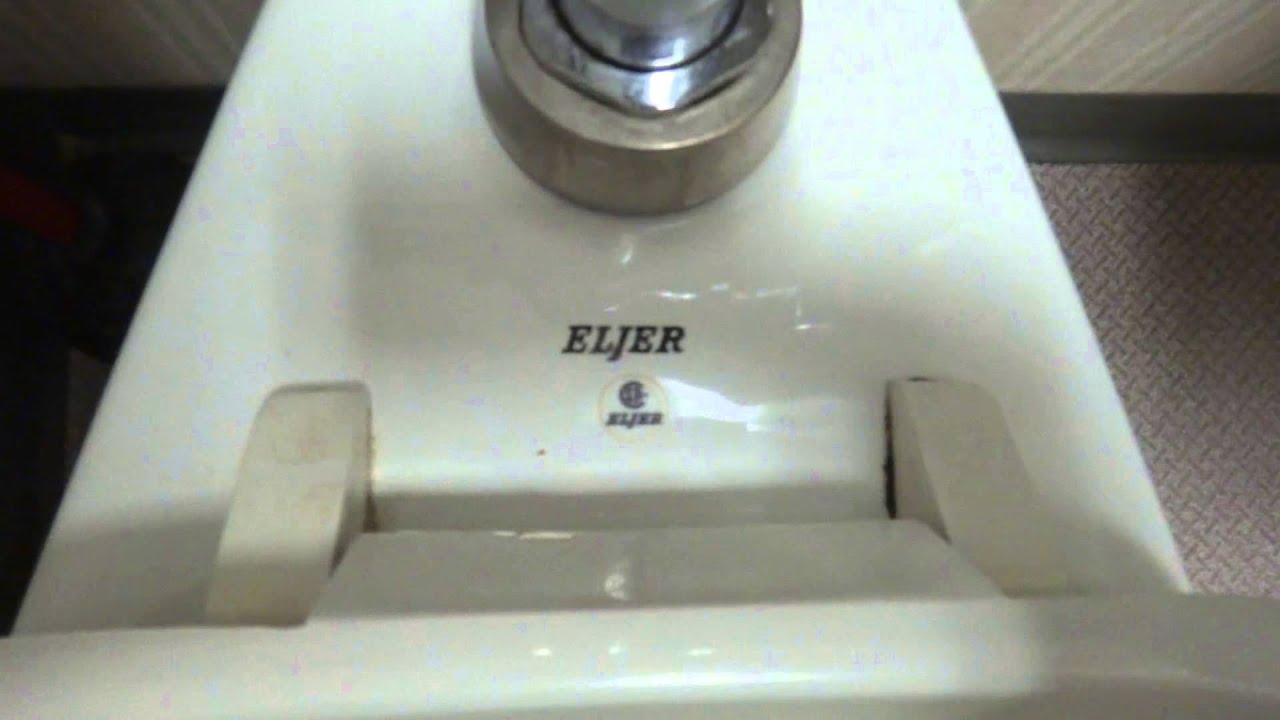Bathroom Tour 1990s Eljer Toilet At A Medical Center