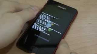 How to install firmware on Samsung Galaxy S2 with ClockworkMod Recovery?
