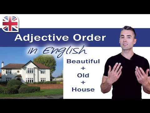 Adjective Order - English Grammar Lesson