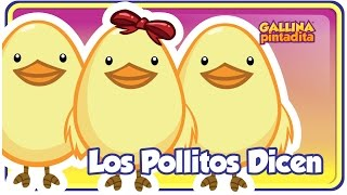 Repeat youtube video LOS POLLITOS DICEN - Gallina Pintadita - OFICIAL