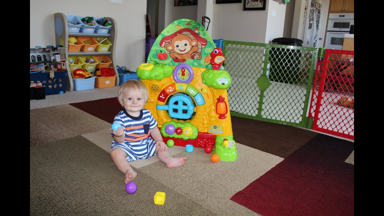 Vtech Grow And Discover Tree House Review Youtube