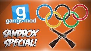 Garrys Mod Sandbox Funny Moments Special! - Blunderbuss Olympics!