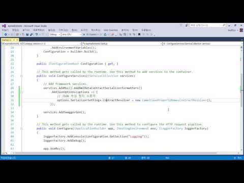 02_06_ASP.NET Core Web API_JSON 렌더링을 카멜 표기법(Camel Case)으로 변경하기