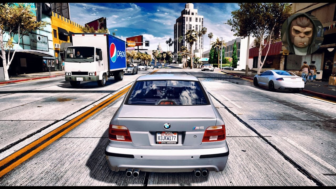 Ultra Realistic Hdr Graphics 60fps Gameplay: BMW M5 E39 Gameplay! Ultra