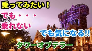 東京ディズニーシー 人気絶叫アトラクション「タワーオブテラー」 乗っ...