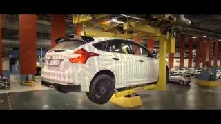 ken block drives the new 2016 ford focus rs