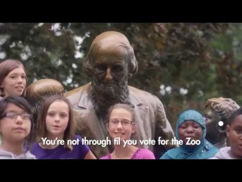 """""""You're Not Through Til You Vote For The Zoo and Museum"""""""
