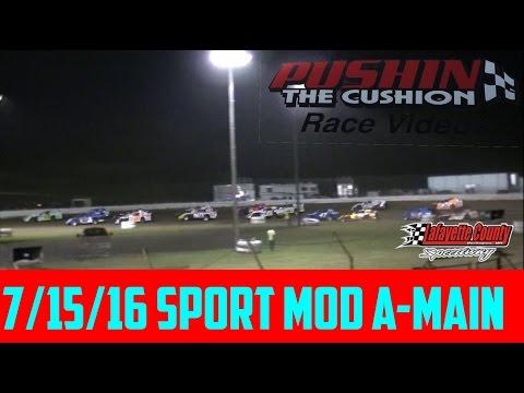 Lafayette County Speedway 7/15/16 Sport Mod Feature