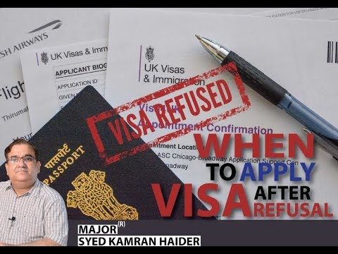 When To Apply Visa After Refusal