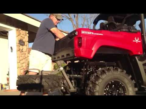 Yamaha Viking Spare Tire Carrier And Hushpower Silencer