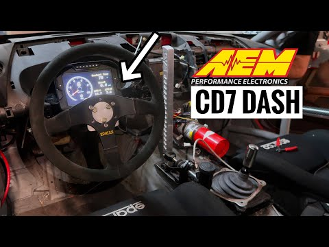 350z Gets A Digital Dash Display!