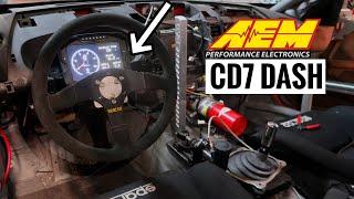 350z Gets a Digital Dash Display!