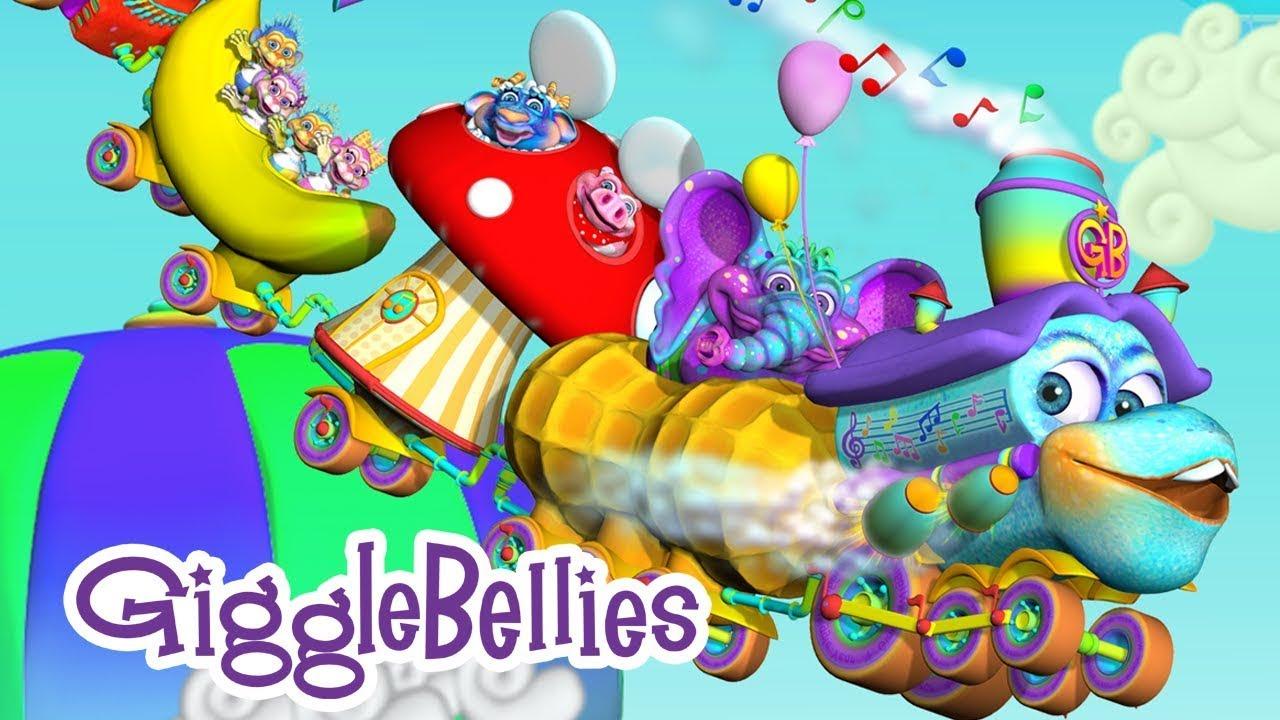 The GiggleBelly Train | Fun Kids Songs | GiggleBellies ...