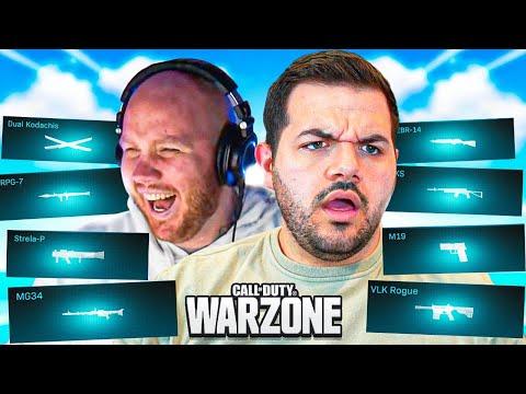 Warzone, but TIMTHETATMAN picks my class... *WORST CLASS EVER*