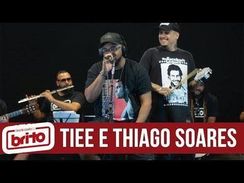 TIEE e THIAGO SOARES  Acústico Canal do Leandro Brito  Roda de samba