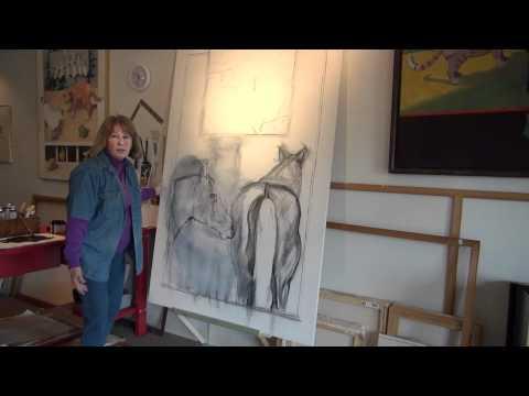 Artist Victoria Chick Talks About Composition