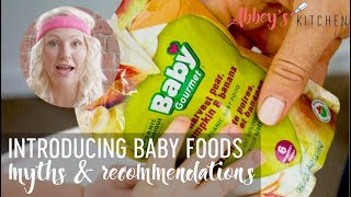 Introducing Baby Food & Starting Solids Myth & Recommendations | Arsenic in Rice Cereal