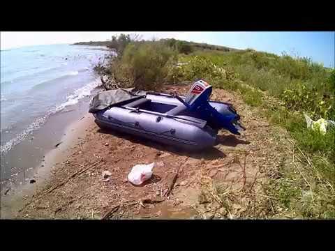 лодочный мотор сузуки 5л.с и лодка 2.9