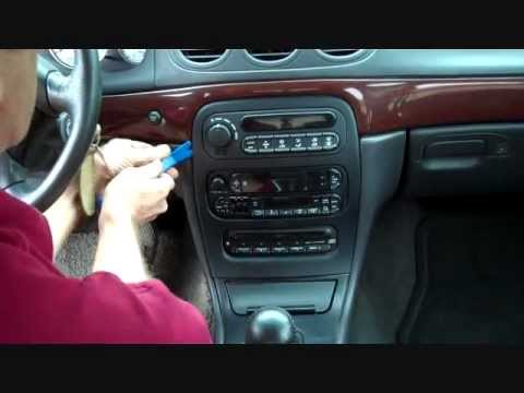 Amplifier And Speaker Wiring Diagram Chrysler 300m Stereo Removal 1999 2004 Youtube