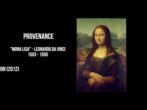 Provenance - Art Vocab Definition