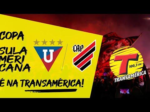 AO VIVO LDU X ATHLETICO TRANSAMÉRICA CURITIBA 12/08/2021#Ldu #Athletico #CopaSulamericana