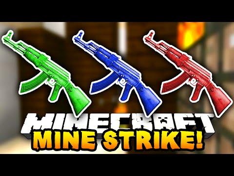 Minecraft MINESTRIKE! #2 (Minecraft Counterstrike) W/PrestonPlayz & MrWoofless