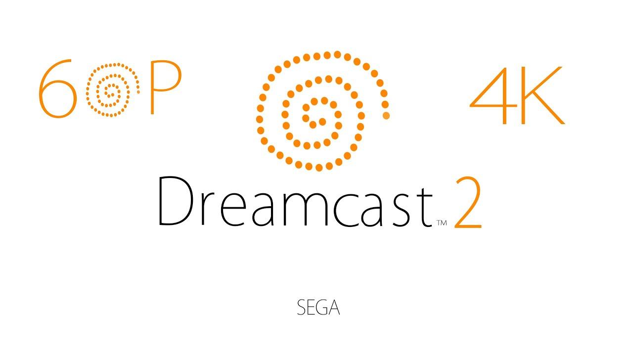 Startup Dreamcast 2 in 4K 60P - Dreamcast Logo remastered - Dreamcast 2  Startup Fan-Made 2016