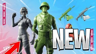 [🔴 LIVE FORTNITE] NEW SKIN - PLASTIQUE SOLDIER - NEW PACK DISPO IN THE BOUTIQUE!