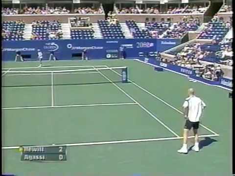 Agassi Vs Hewitt US Open 2002