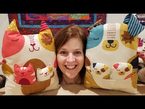 WOOF WOOF MEOW! Cat and Dog Pillow Pets!