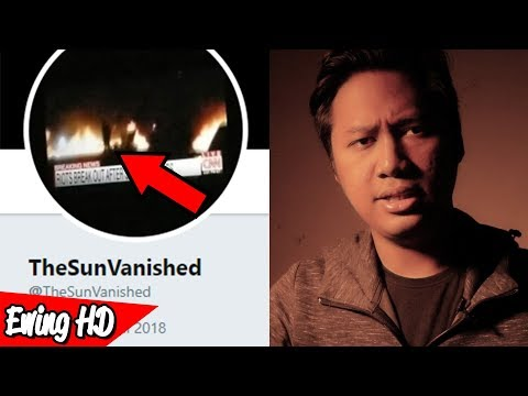 The Investigation of Mysterious @TheSunVanished Twitter Account
